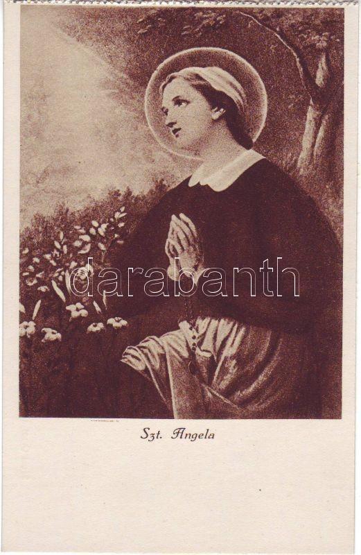 Angela Merici, Szent Angéla