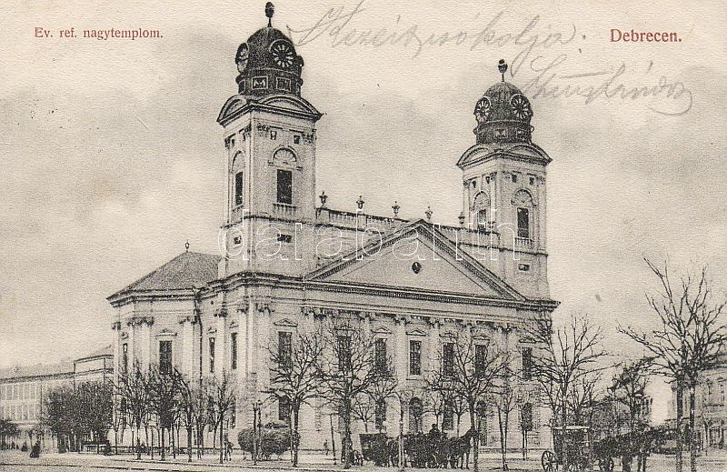 Debrecen, Evangélikus református templom