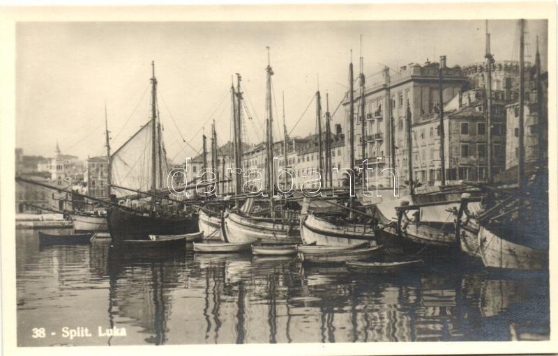 Split, Luka / port, ships