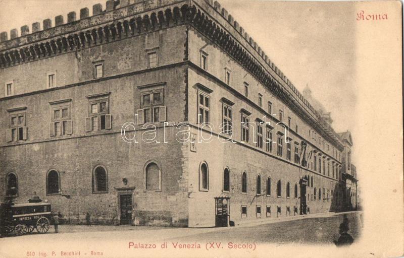Rome, Roma; Palazzo di Venezia / palace