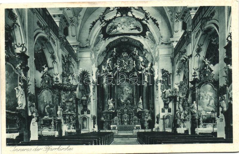 Dietramszell, church interior