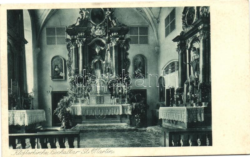Dietramszell, church interior, altar