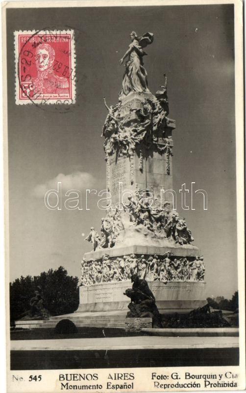Buenos Aires, Monumento Espanol / Spanish monument