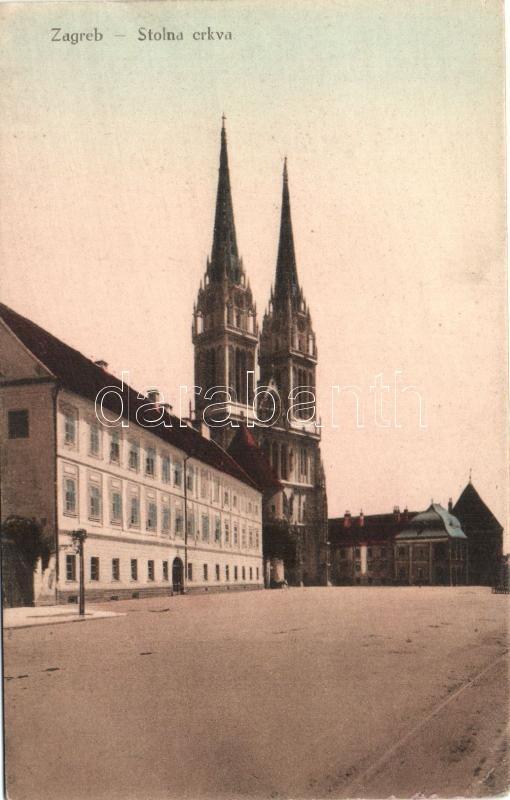 zagreb cathedral, Zágráb székesegyház