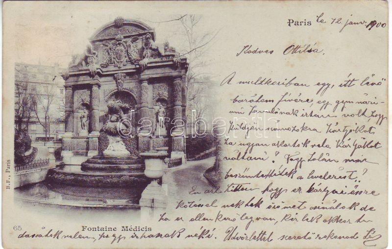 Paris, Fountaine Medicis / fountain
