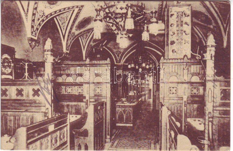 Budapest IV. Förster János sörözője az 'Apostolok'-hoz, fülkék, belső