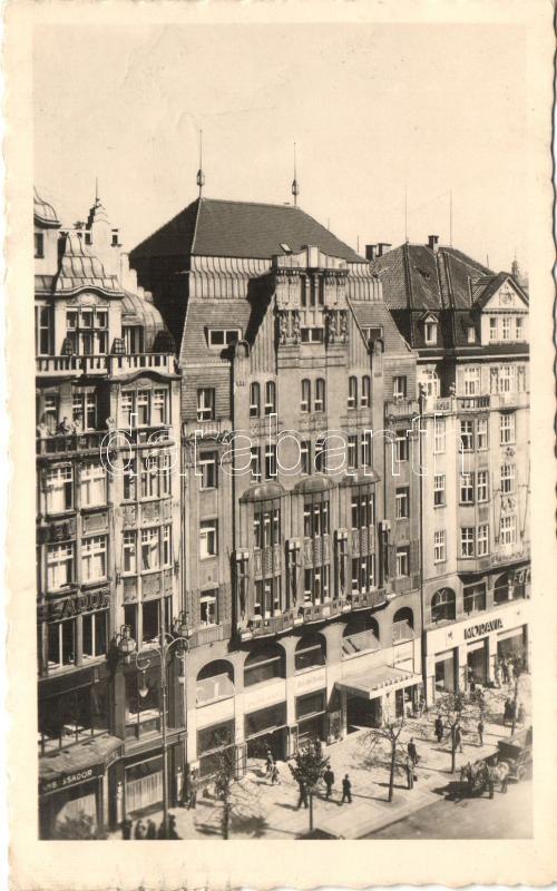 1948 Prague, Prag, Praha; Metropol Hotel