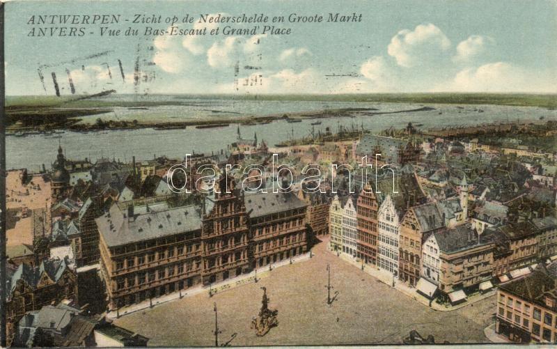 Antwerp, Anvers; Lower Scheldt, Grand square