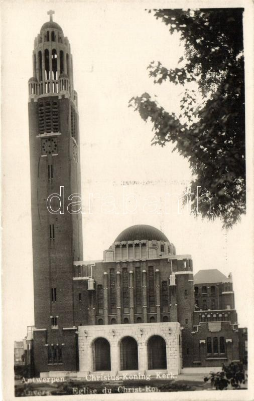 Antwerp, Anvers; Christ-King church