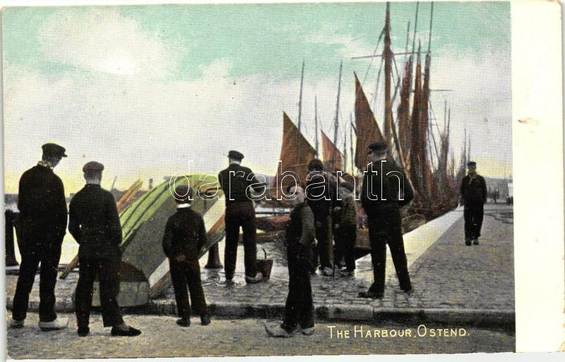 Ostend, harbour, The 'National' Series
