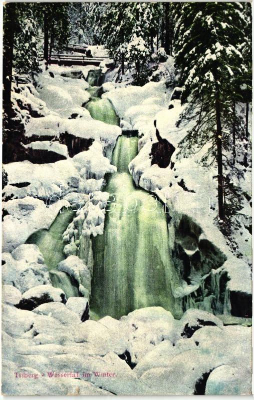 Triberg im Schwarzwald, waterfall
