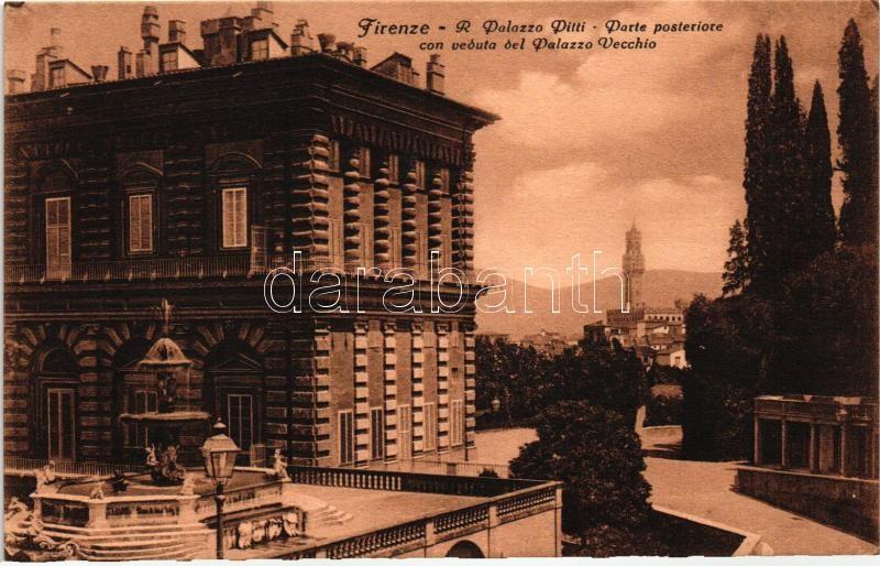 Firenze, Pitti palace, Old palace