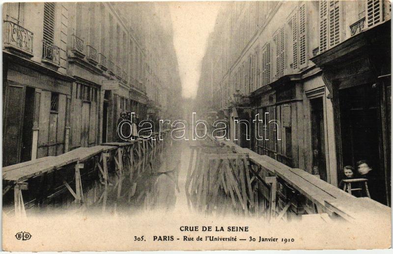 Paris, Crue de la Seine / river flood