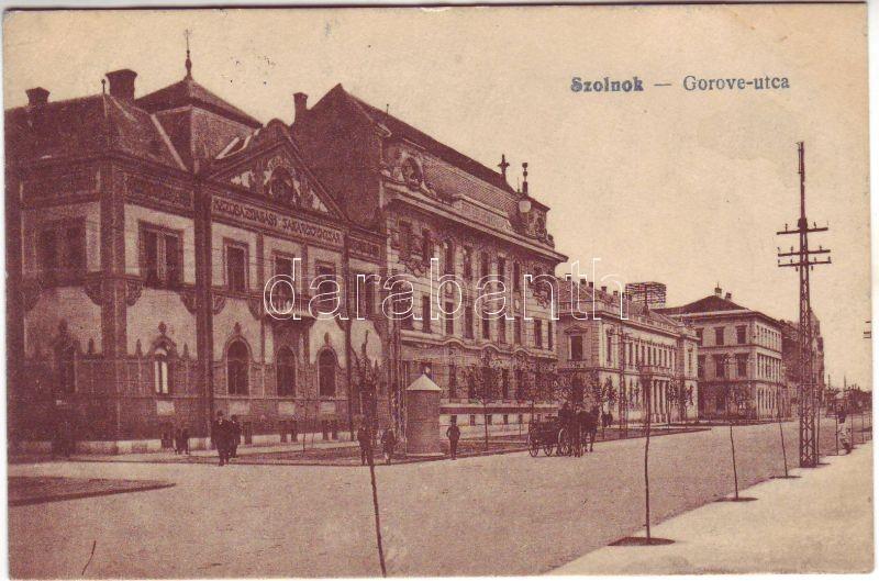 Szolnok, Gorove utca, Takarékpénztár