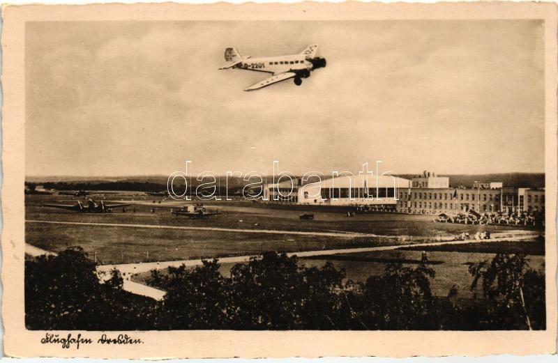 Dresden, Flughafen / airport, D-2201 aircraft