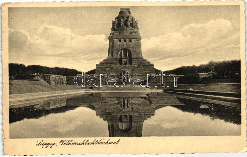 Leipzig, Völkerschlachtdenkmal / statue