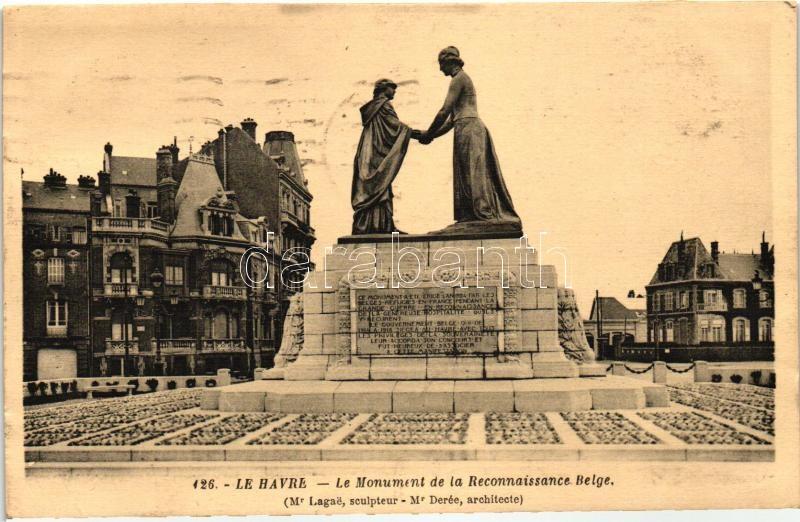 Le Havre, Monument de la Reconnaissance Belge