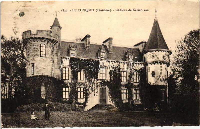 Le Conquet, Chateau de Kermorvan / castle