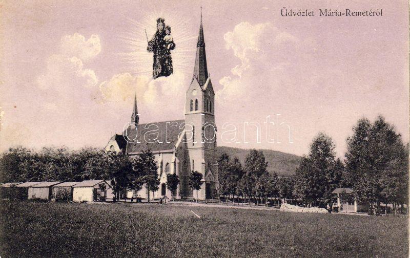 Budapest II. Máriaremete, Kisboldogasszony-templom, Mária a kis Jézussal