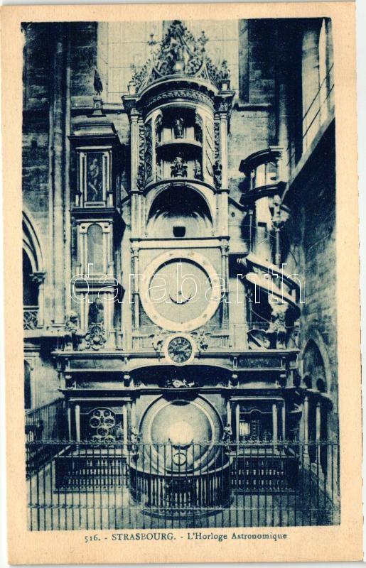 Strasbourg, L'Horloge Astronomique / astronomical clock