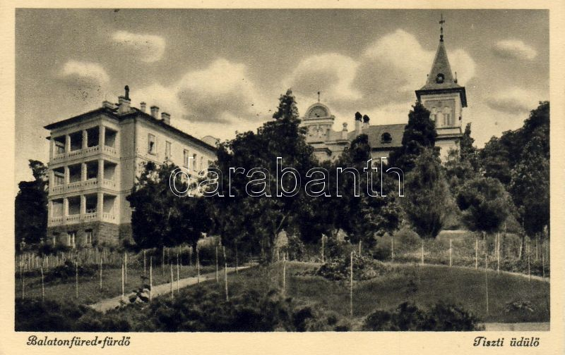 Balatonfüred-fürdő, Tiszti üdülő