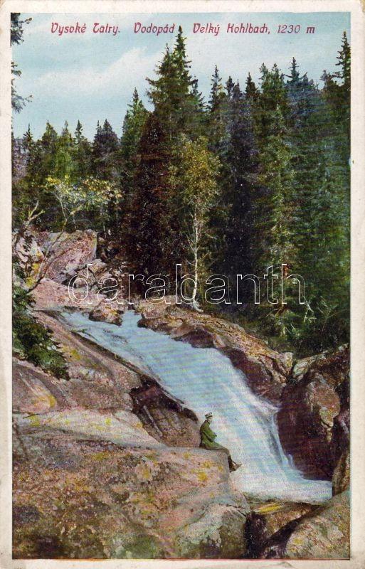 Tatra, Kohlbach, waterfall, Tátra, Kohlbach, vízesés