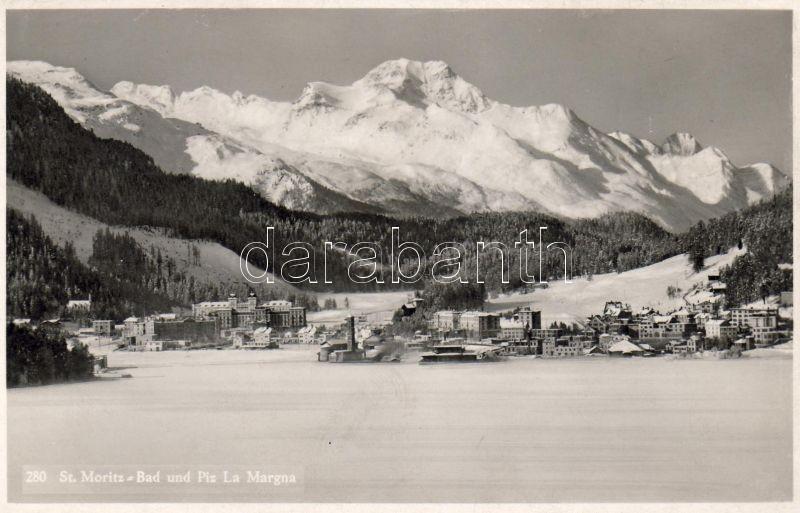 Sankt Moritz, Piz da la Margna, spa