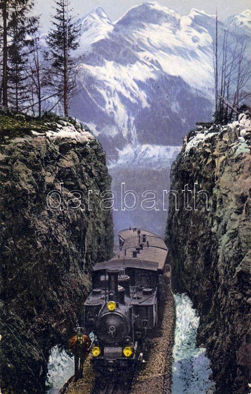 Brünig Pass, Brünig railway line, locomotive