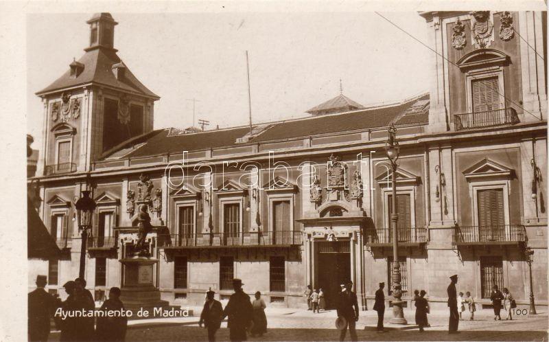 Madrid, Ayuntamiento / town hall