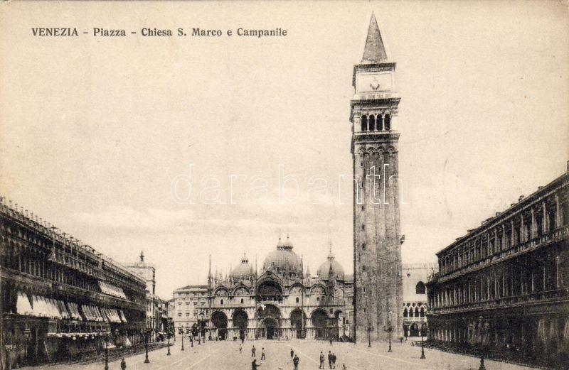 Venice, Venezia; Piazza, Chiesa S. Marco, Campanile / square, church, bell tower