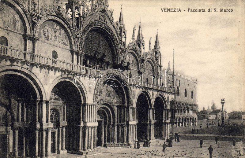 Venice, Venezia; Facciata di S. Marco