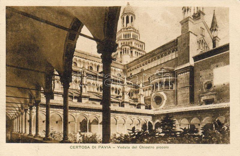 Pavia, Certosa di Pavia, Chiostro piccolo / monastery, cloister