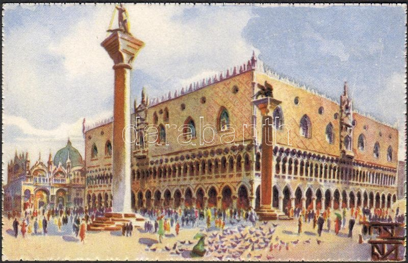 Venice, Venezia; Palazzo Ducale / palace