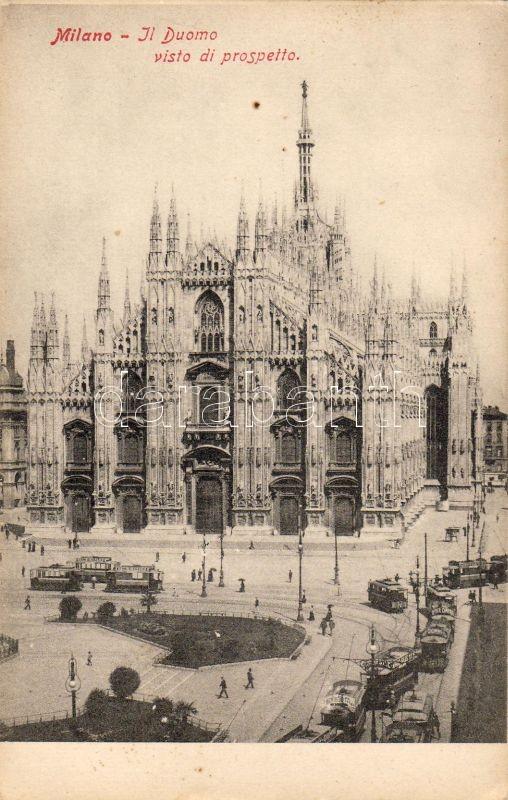 Milan, Milano; Il Duomo / cathedral