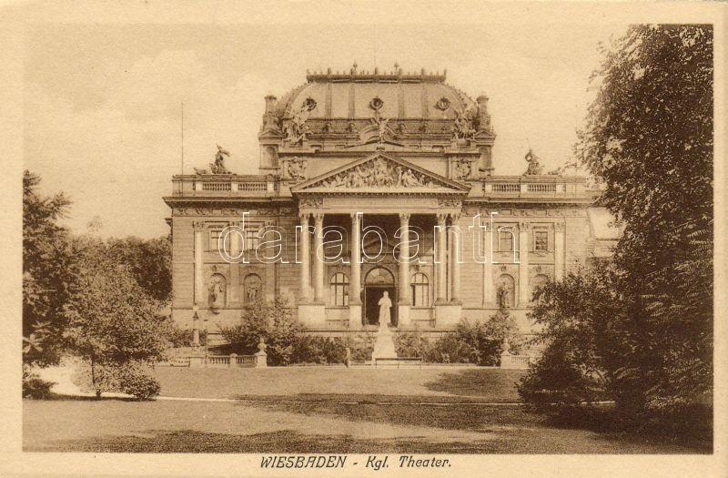 Wiesbaden, Kgl. Theater