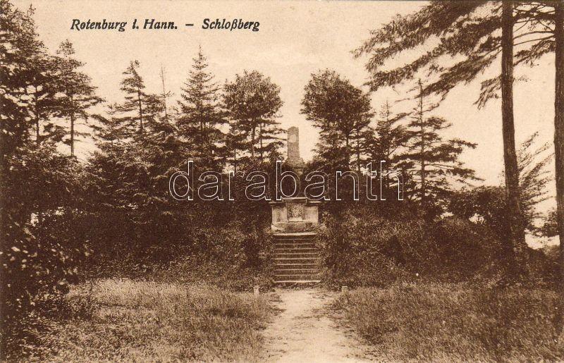 Rotenburg an der Wümme, Rotenburg in Hannover; Schlossberg