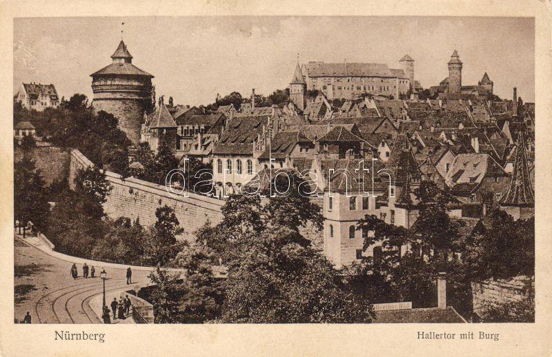 Nürnberg, Hallertor, Burg / castle