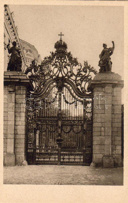 Würzburg, Hofgarten, Hauptportal / garden, main entry