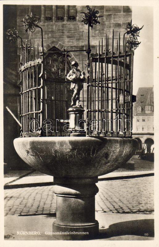 Nürnberg, Gänsemännleinbrunnen / fountain