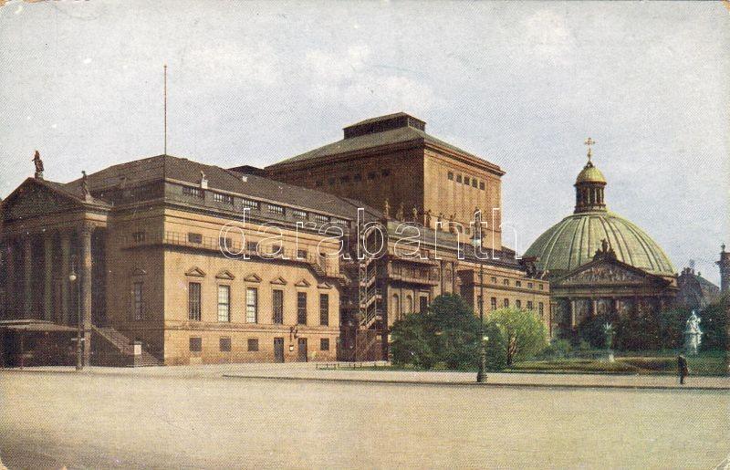 Berlin, Opernhaus, Hedwigskirche / opera house, church