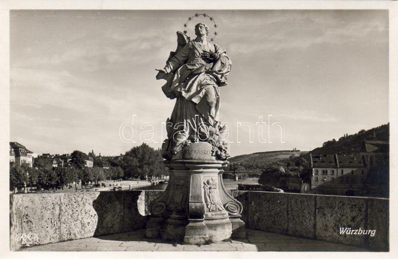 Würzburg, Patrona Franconiae / statue