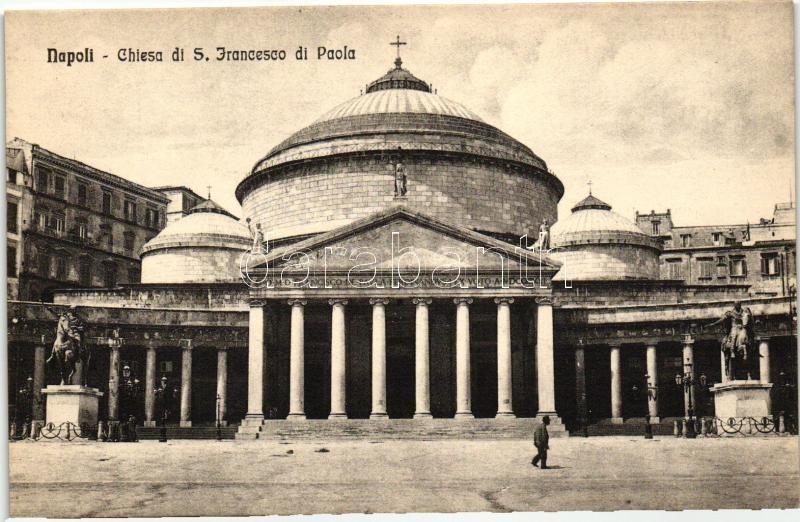 Naples, Napoli; Chiesa di S. Francesco di Paola / church