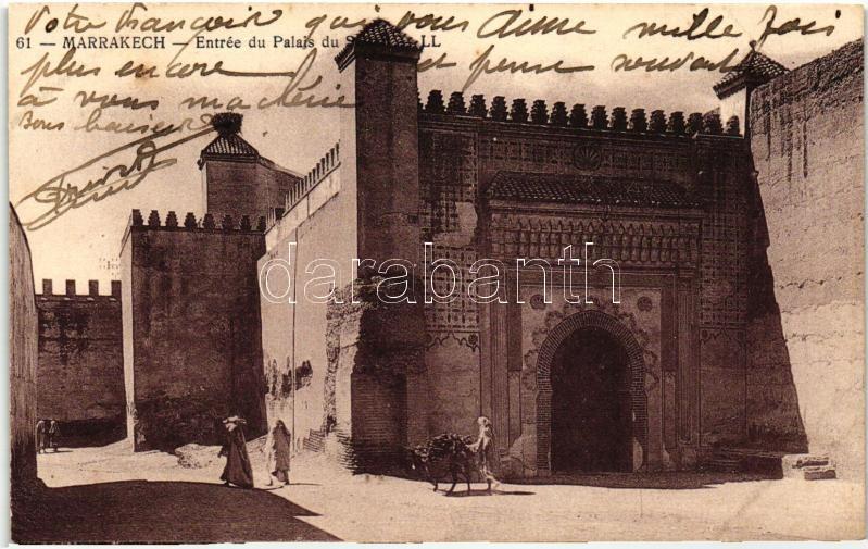 Marrakesh, palace