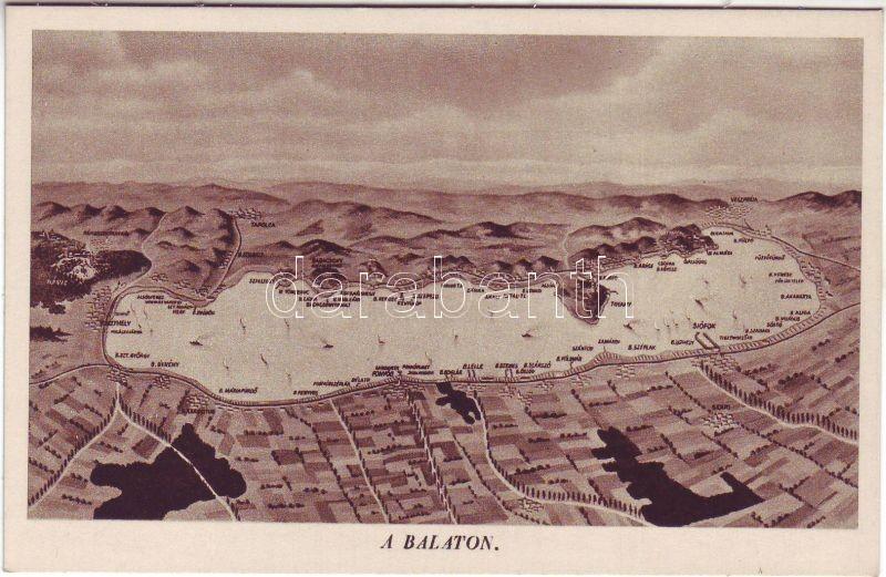 Balaton térkép