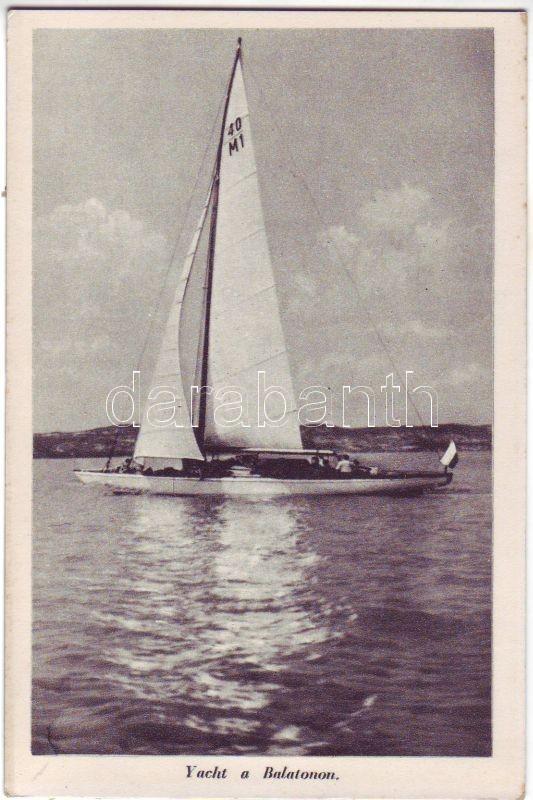 Balaton, 40/M1 vitorlás hajó
