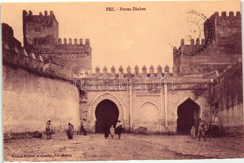 Fez, Portes Dkaken / gates