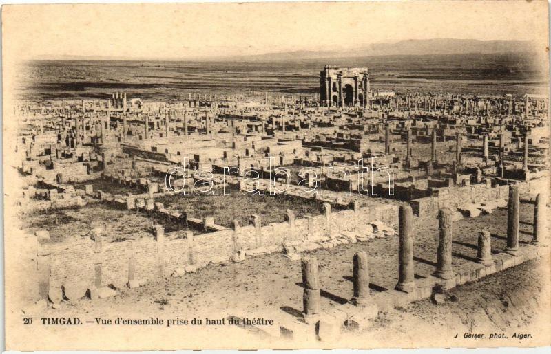 Timgad, theatre