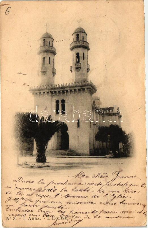 Larbaa, L'Arba; Eglise / church