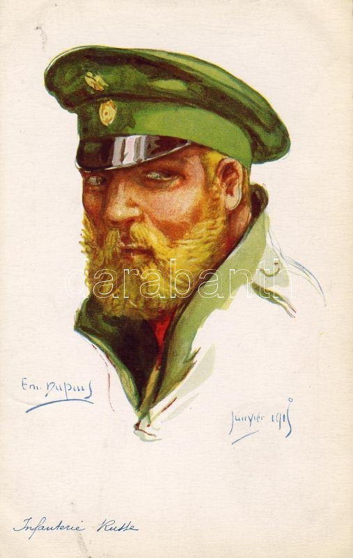 Russian army, infatryman, s: Em Dupius, Orosz hadsereg, gyalogos, s: Em Dupius