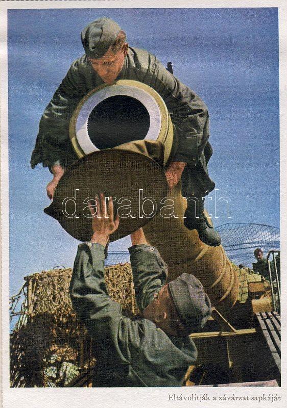 WWII Rail cannon, removing the gunlock, WWII Vasúti ágyú, závárzat eltávolítása